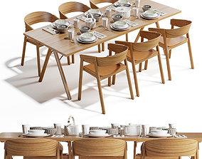 Cover chair Split table Muuto Design 3D model