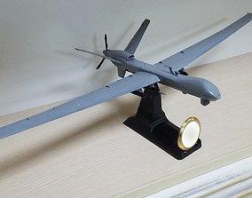 3D printable model MQ9 UAV Scale 1 50