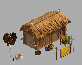 3D Game Rural Architecture - House 02