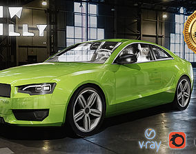 3D model Car Audi A5