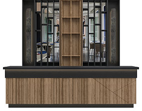 3D model Restaurant Bar 12