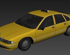 Taxi Car 3D