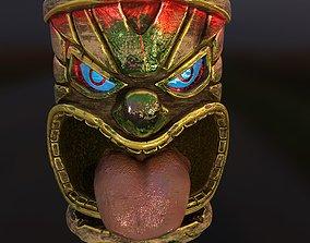 3D Tiki Totem 3