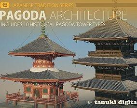 Pagoda Architecture 3D model