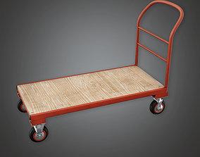HLW - Trolley 02 - PBR Game Ready 3D asset
