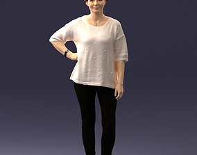 Woman in pose 0029 3D Print Ready