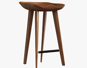 3D DWR Tractor Counter Stool