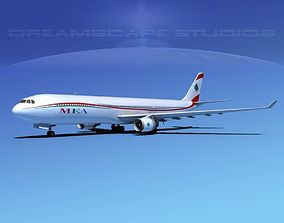 Airbus A330-300 MEA 3D