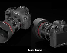 3D model Camera Canon 6D