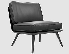 Spine Lounge Suite Chair Petit Fredericia max fbx 3D model