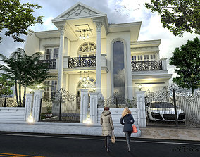 home 3D model Classic house