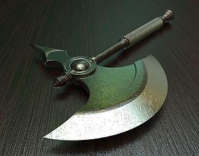 Battle axe 2 3D model