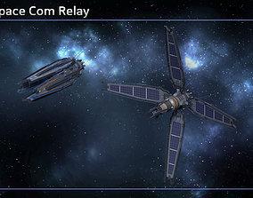 3D asset VR / AR ready Deep Space Com Relay