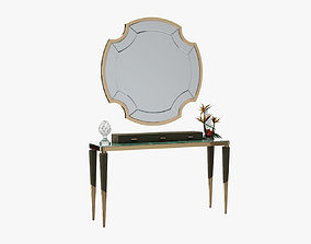 3D Longhi Odette Console with Graydon Mirror