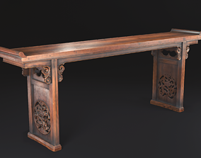 3D asset Chinese Table Game model