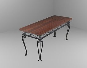 forged table 3D
