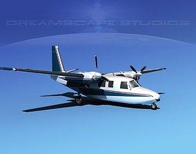 3D Rockwell Aero Commander 560 V17