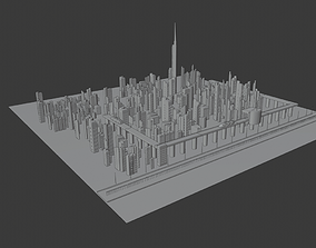 3D asset black friday liberty city by cyberalex NEW YEAR