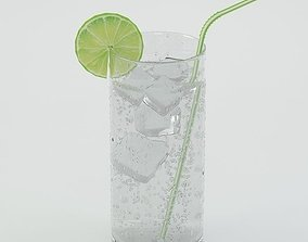 Drink 03 Soda with lime 3D