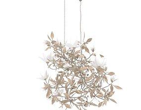 Magnolia chandelier by cox London 3D