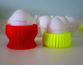 3D printable model colorful fun kitchen egg holders