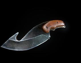 3D asset Knife gut CSgo