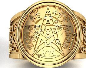 Tetragrammaton Rings 3D printer Model