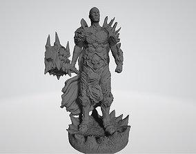 Bolvar Fordragon Lich King 3D print model