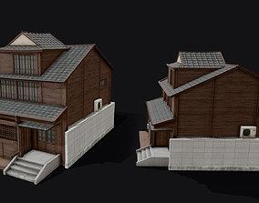 Japanese Style Hongdae House 3D model