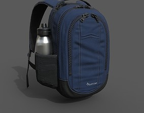 3D asset Human Backpack scifi ver 2