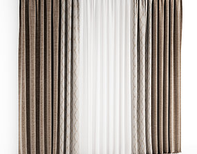 silk 3D Curtain 77