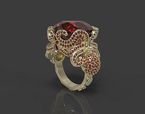 Ring Octopus 3D print model