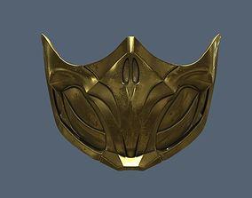 MK 11 Scorpion Mask 3D printable model