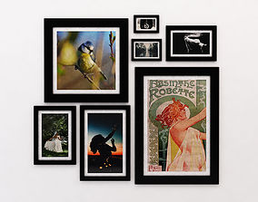 PHOTO FRAME---Collection x7 different size 3D