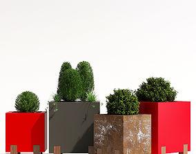 3D model Stilt planter