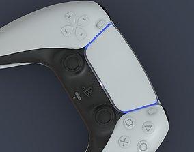 Sony DualSense PlayStation 5 Max Corona Scene 3D