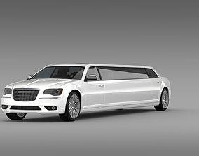 3D Chrysler 300C 2013 Limousine
