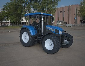 3D model New holland Tractor