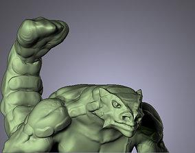 3D printable model LIZARD MAN ANKILOSAURUS