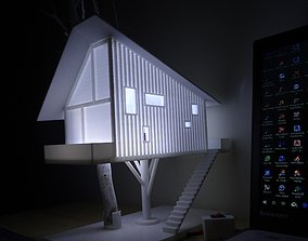 Treehouse Lampshade model for 3d printer