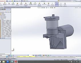 3D model min air compressor