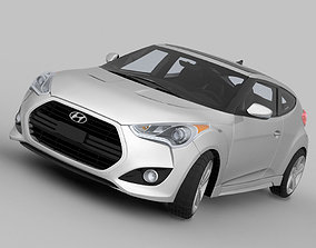 3D model Hyundai Veloster Turbo 2013