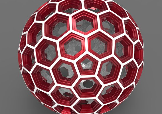Hex Hole Sphere Ball