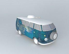 Post-Apocalyptic Ambulance 3D model
