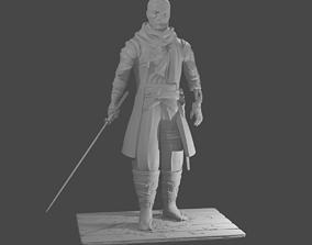 Sekiro shadows die twice sculpture for 3d printing