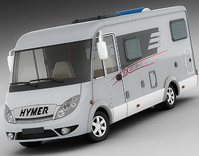 3D model Hymer Exis Motorhome