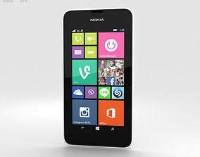 3D model Nokia Lumia 530 White