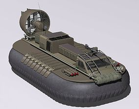 007 HoverCraft Die another Day Movie 3D model