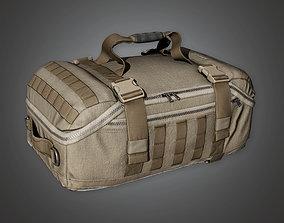 Military Supplies Gear Bag - MLT - PBR Game Ready 3D model