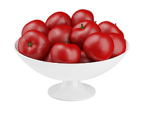3D Bowl of Tomatoes